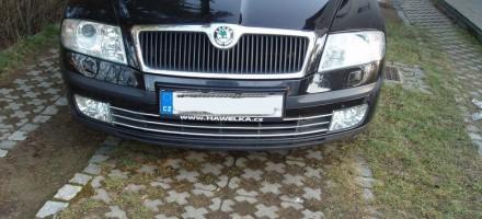 Demontáž předního nárazníku Škoda Octavia II předfacelift