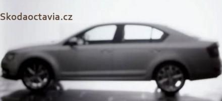 Škoda Octavia 2013 - první oficiální fotografie + video