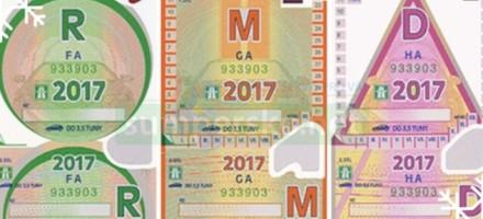Dálniční známka na rok 2017