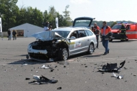 skoda superb crash
