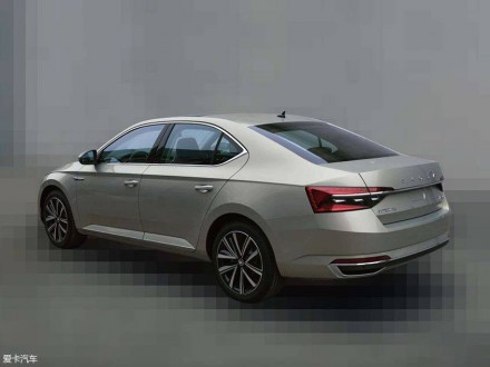 Škoda Superb facelift 2019