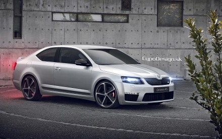 Škoda Octavia RS Coupe!