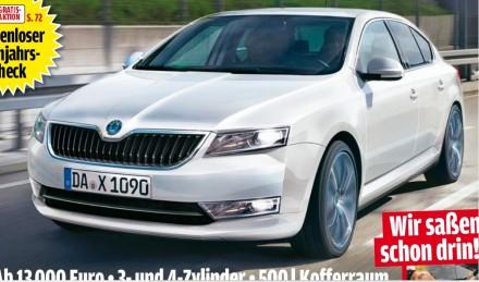 Nová Škoda Octavia 3