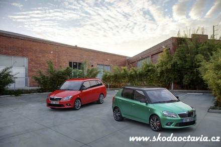 Nová Škoda Fabia RS, Škoda Fabia RS combi fotogalerie