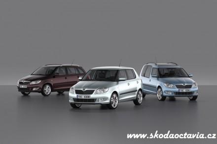 Škoda představila novou Fabii a Roomster (facelift)