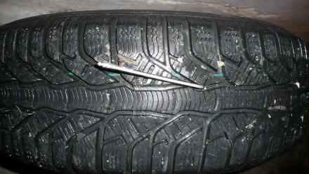 Imbusový klíč v pneumatice.
