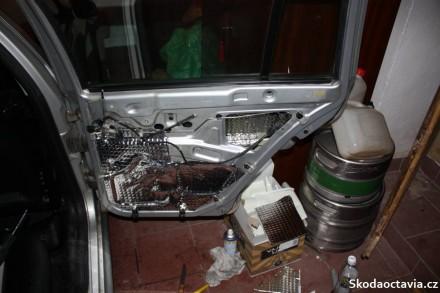 dveře Škoda Octavia