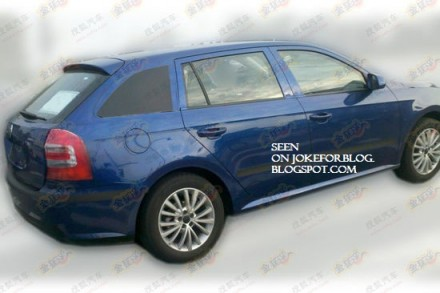 Spy photo: Škoda Rapid sportback